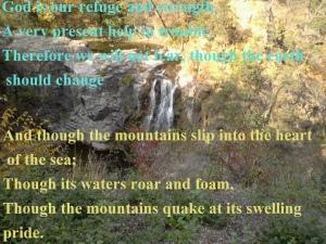 Psalm 46.1-3