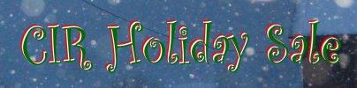 CIR Holiday Sale Banner4