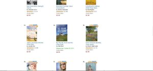 Proof that my book was #6 :)