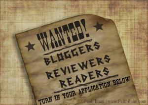 Wanted Poster for Bloggers