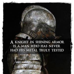 Knight in Shining armor meme