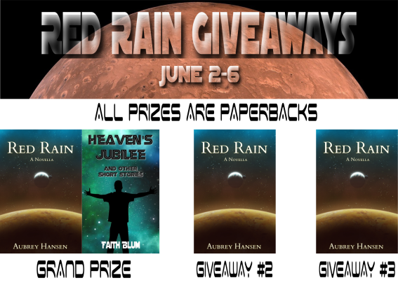 Red Rain Giveaways