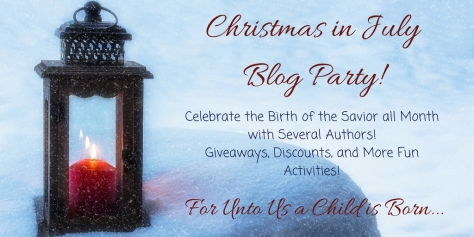Christmas in July Blog Party! For Unto Us