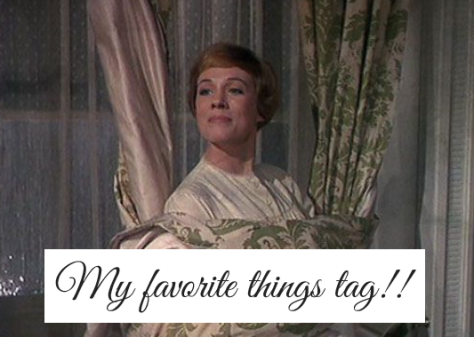 Favorite things tag